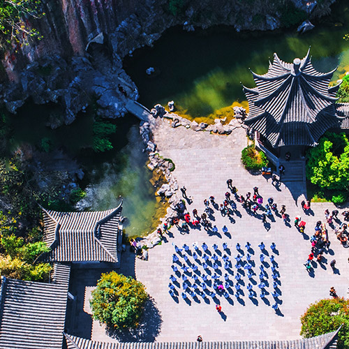 The 2018 National Day holiday in langya mountain resort has come to a successful conclusion